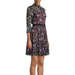 Rebecca Taylor Floral Solstice Dress